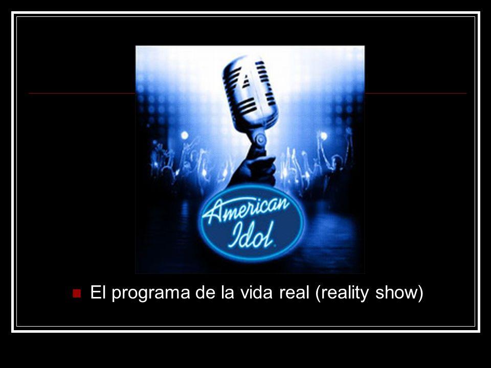 El programa de la vida real (reality show)