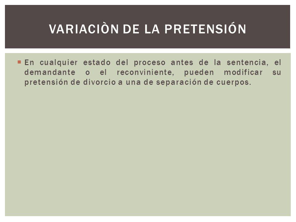 VARIACIÒN DE LA PRETENSIÓN