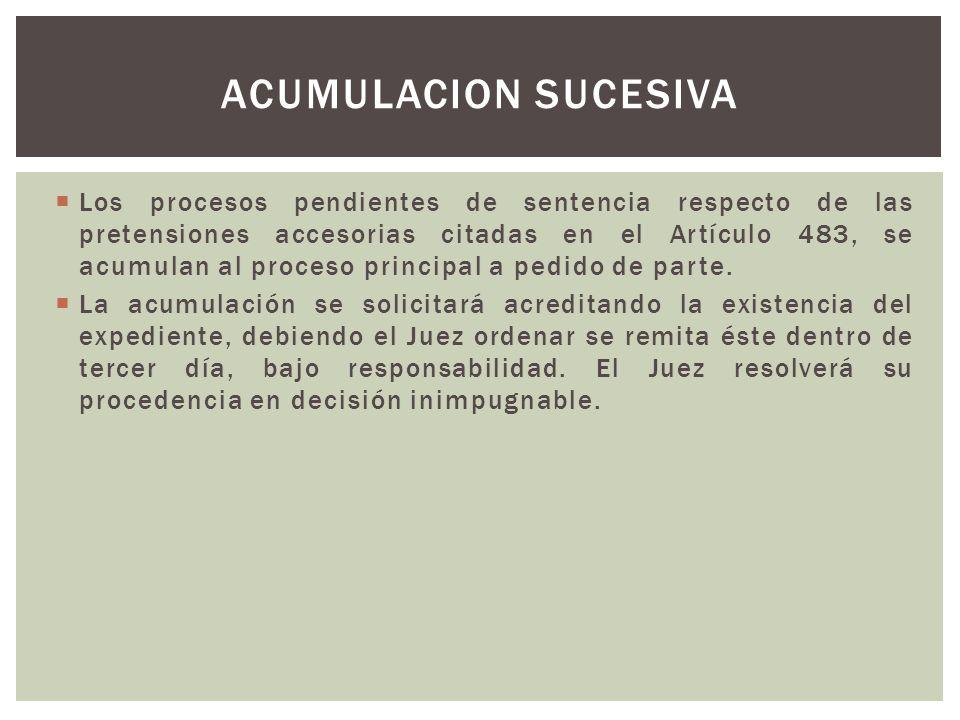 ACUMULACION SUCESIVA