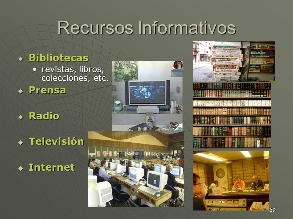 Recursos Informativos