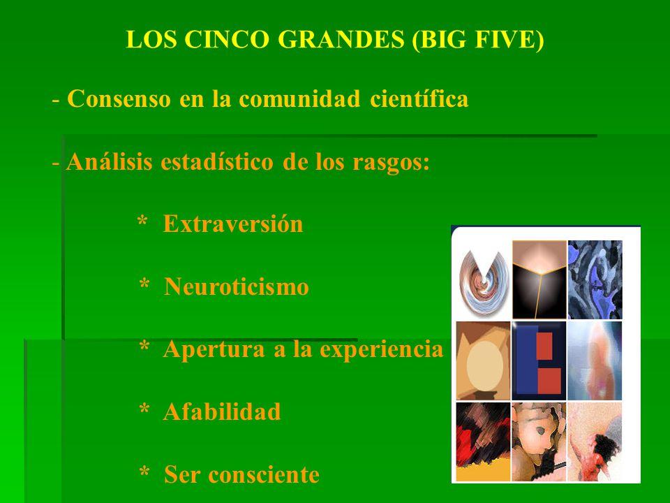LOS CINCO GRANDES (BIG FIVE)