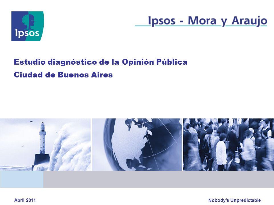 Estudio diagnóstico de la Opinión Pública Ciudad de Buenos Aires