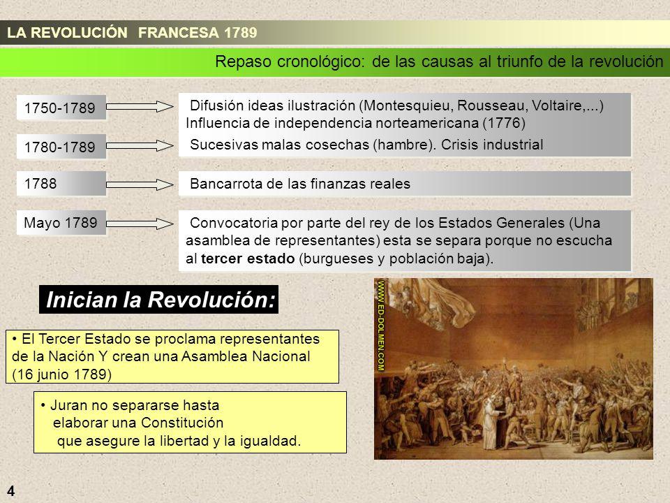 Inician la Revolución: