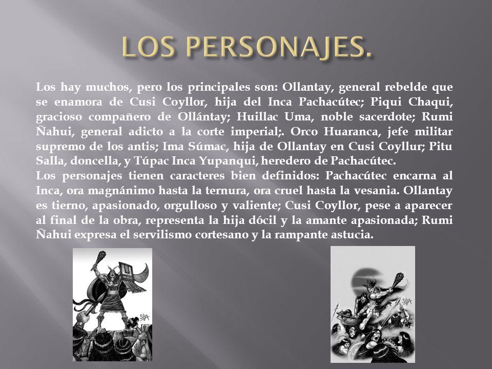 LOS PERSONAJES.