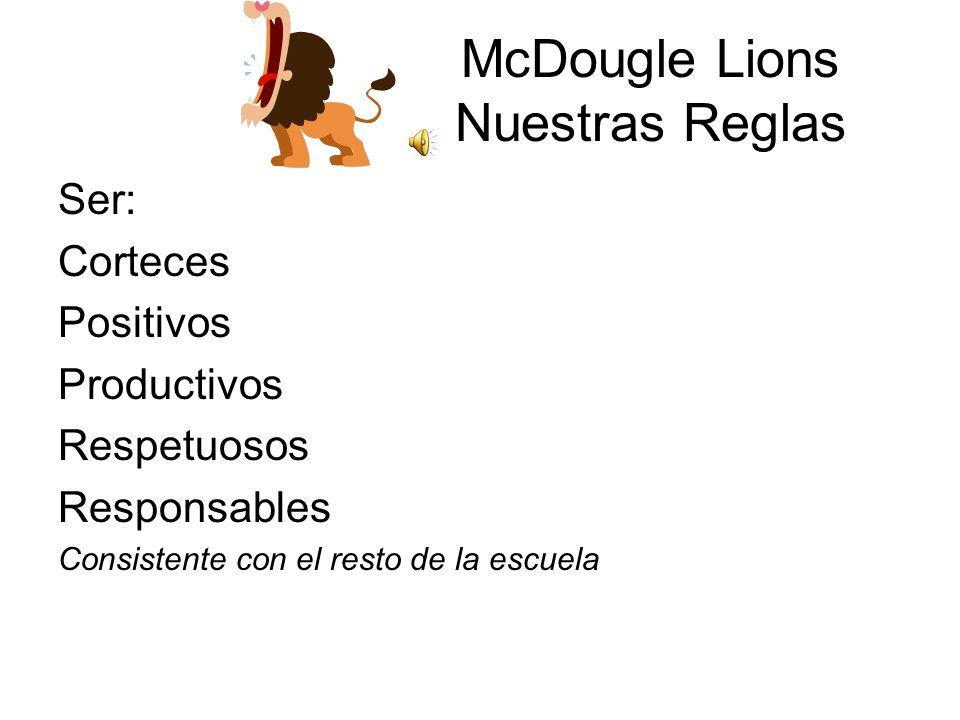 McDougle Lions Nuestras Reglas