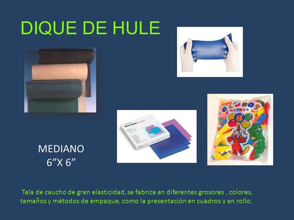 DIQUE DE HULE MEDIANO 6 X 6