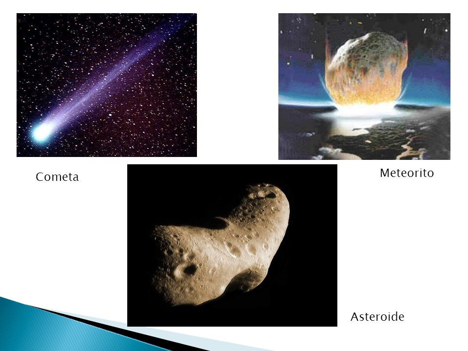 Meteorito Cometa Asteroide