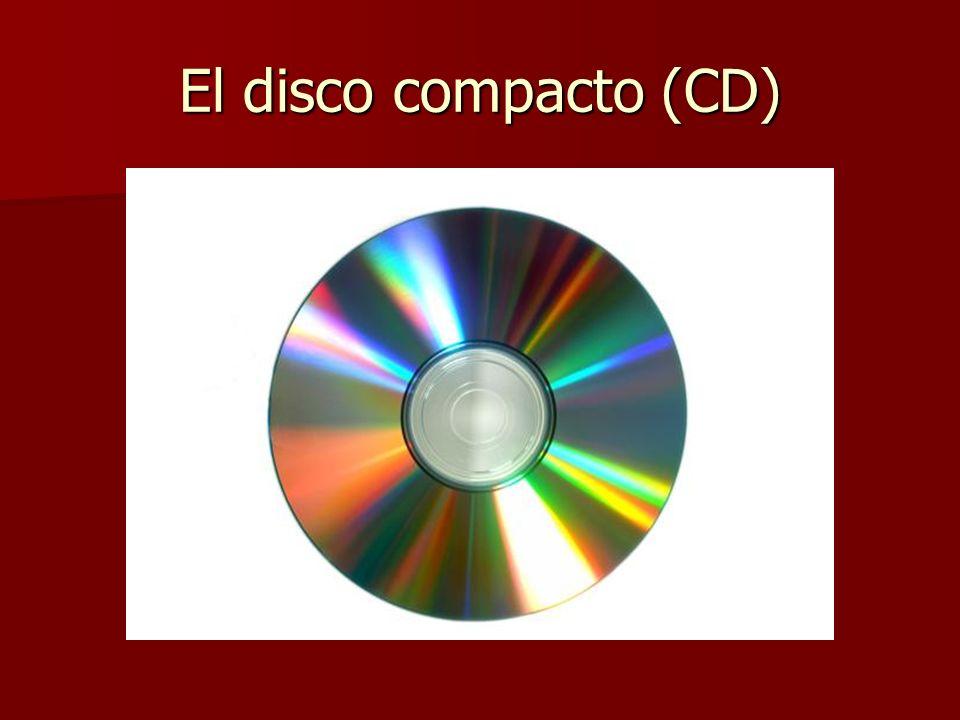 El disco compacto (CD)