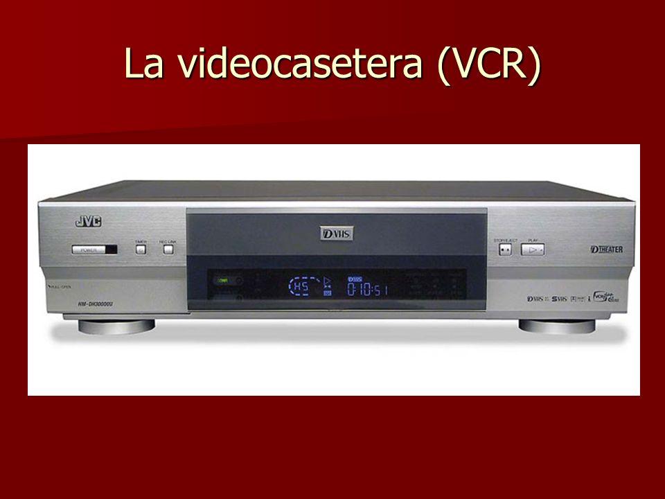 La videocasetera (VCR)