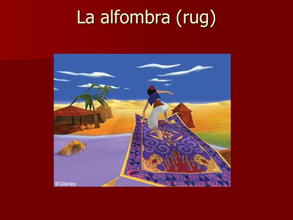 La alfombra (rug)
