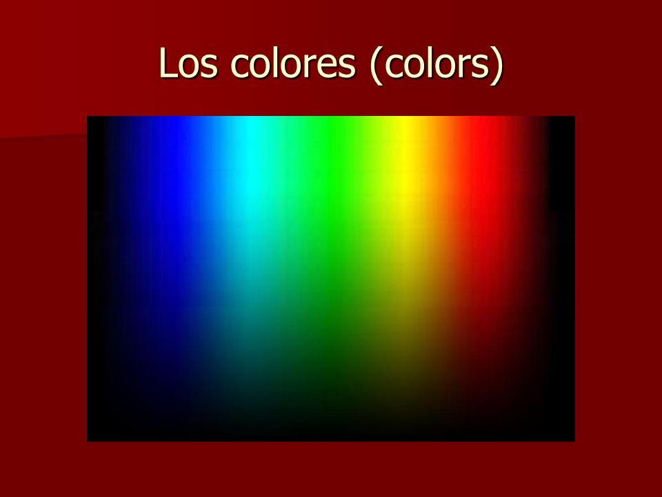 Los colores (colors)