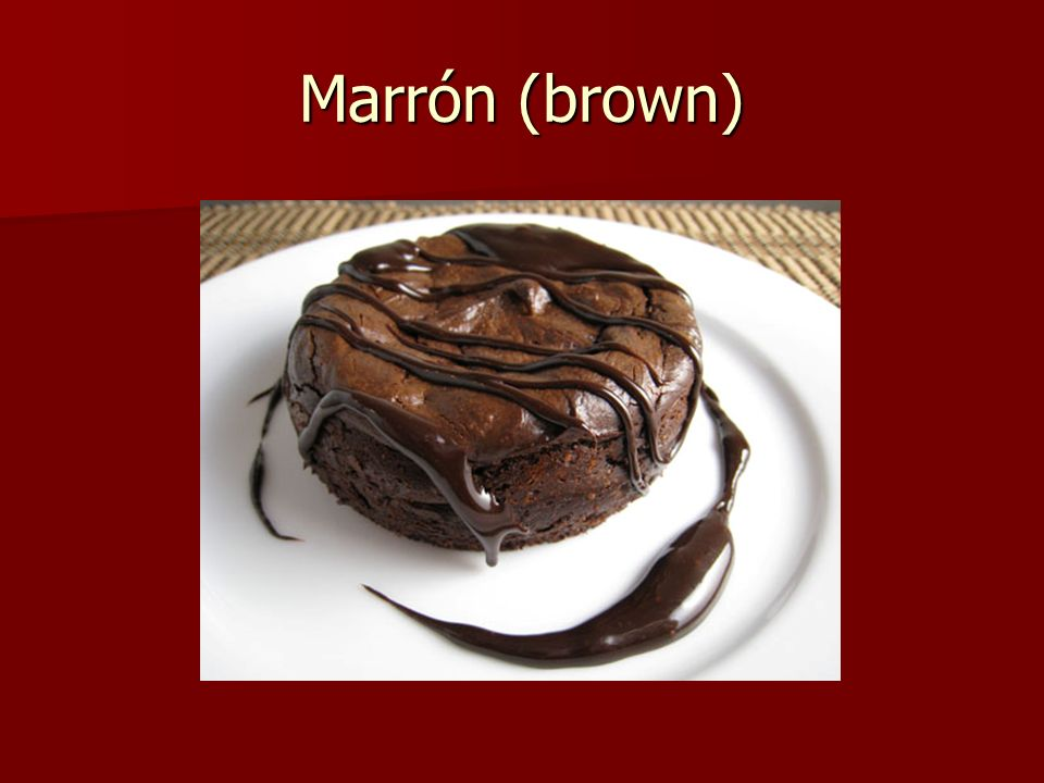 Marrón (brown)