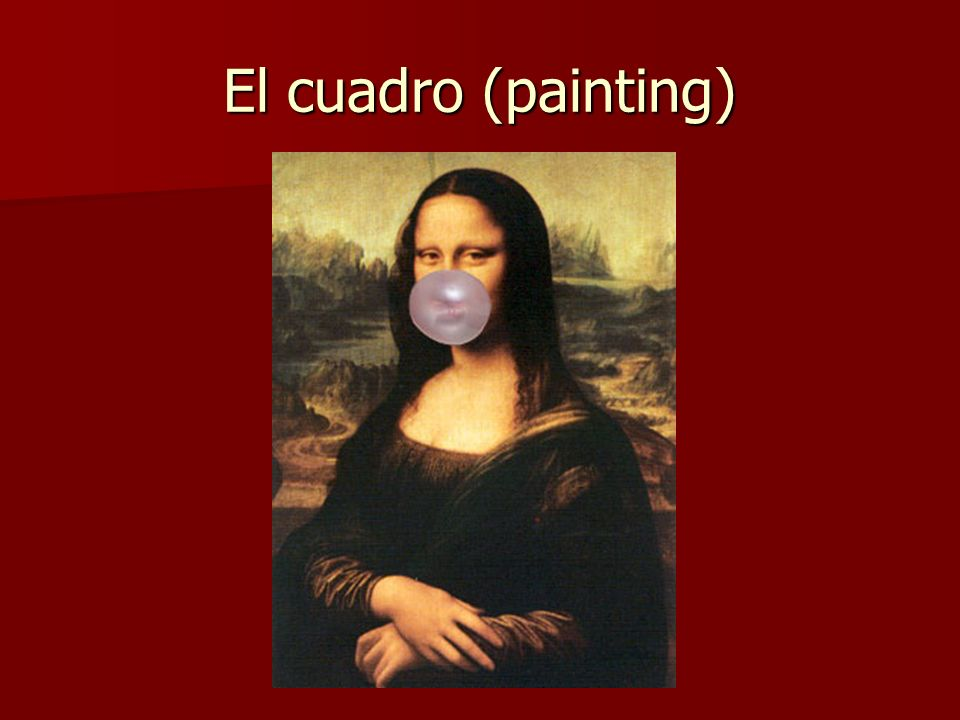 El cuadro (painting)