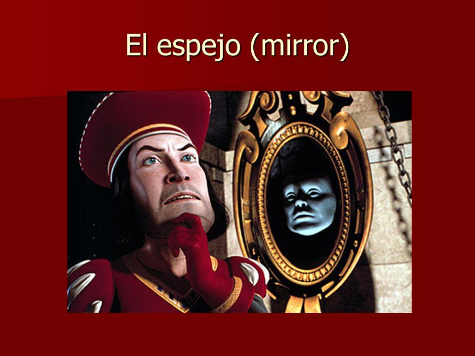 El espejo (mirror)