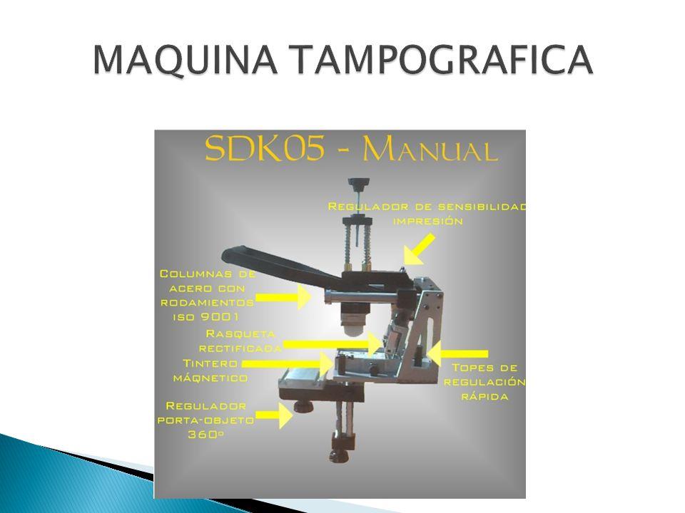 MAQUINA TAMPOGRAFICA