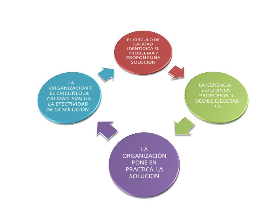 EL CIRCULO DE CALIDAD IDENTIDICA EL PROBLEMA Y PROPONE UNA SOLUCION