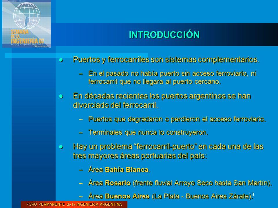 FORO PERMANENTE de la INGENIERÍA ARGENTINA