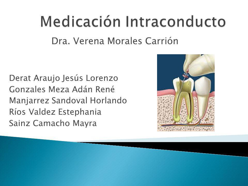 Medicación Intraconducto