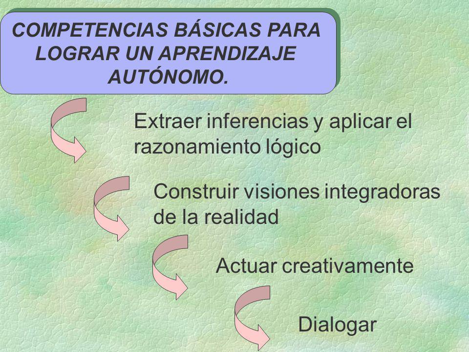 COMPETENCIAS BÁSICAS PARA