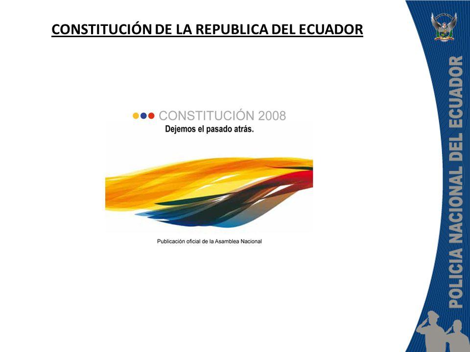CONSTITUCIÓN DE LA REPUBLICA DEL ECUADOR