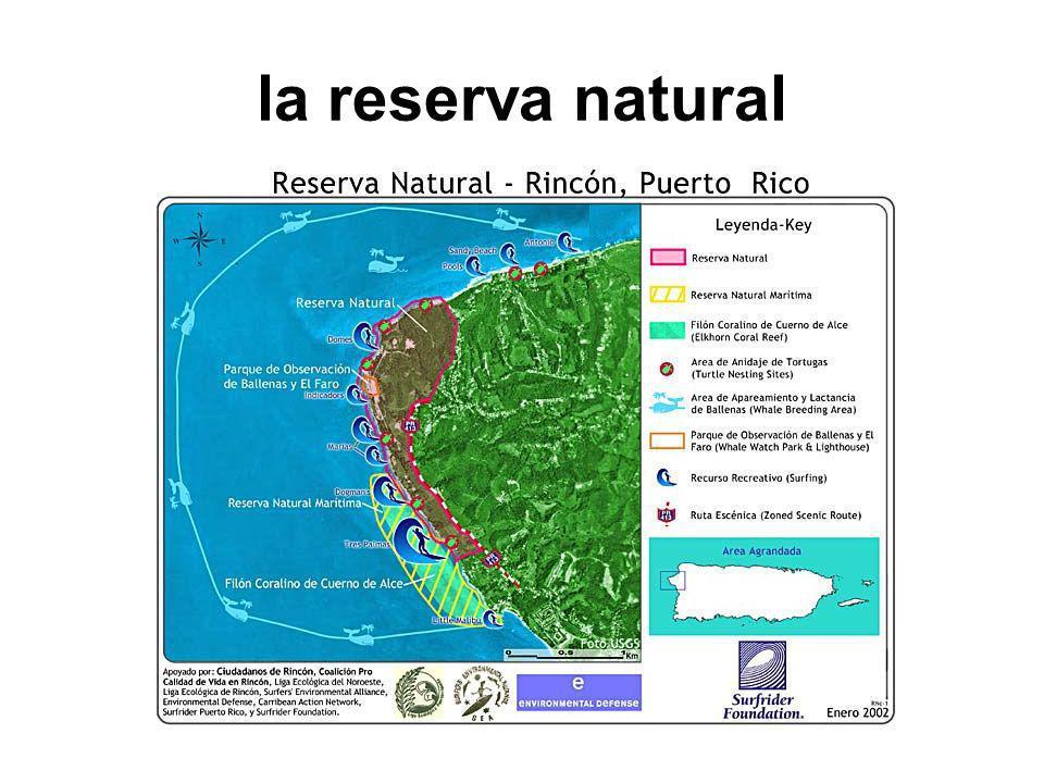 la reserva natural
