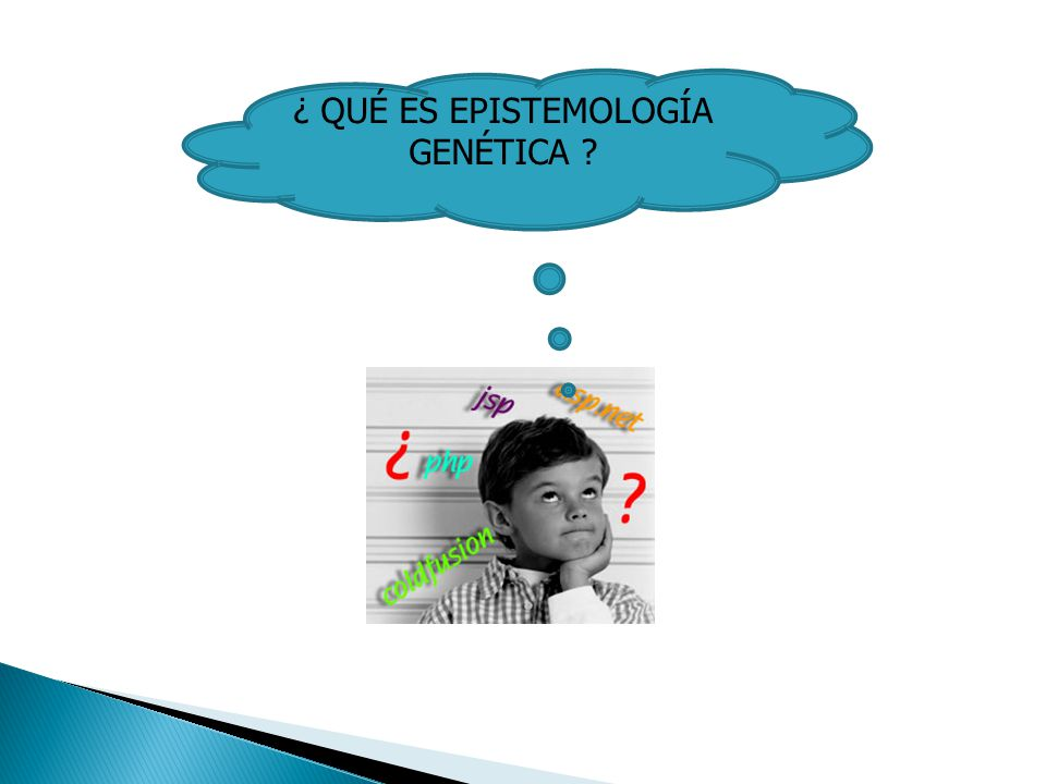 ¿ QUÉ ES EPISTEMOLOGÍA GENÉTICA