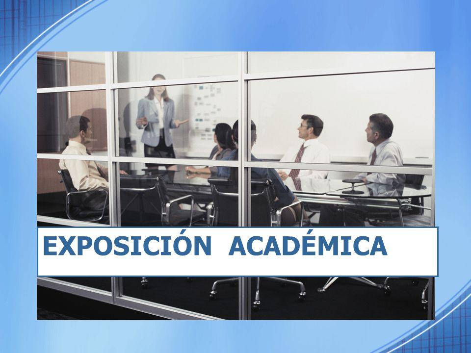 Exposición Académica
