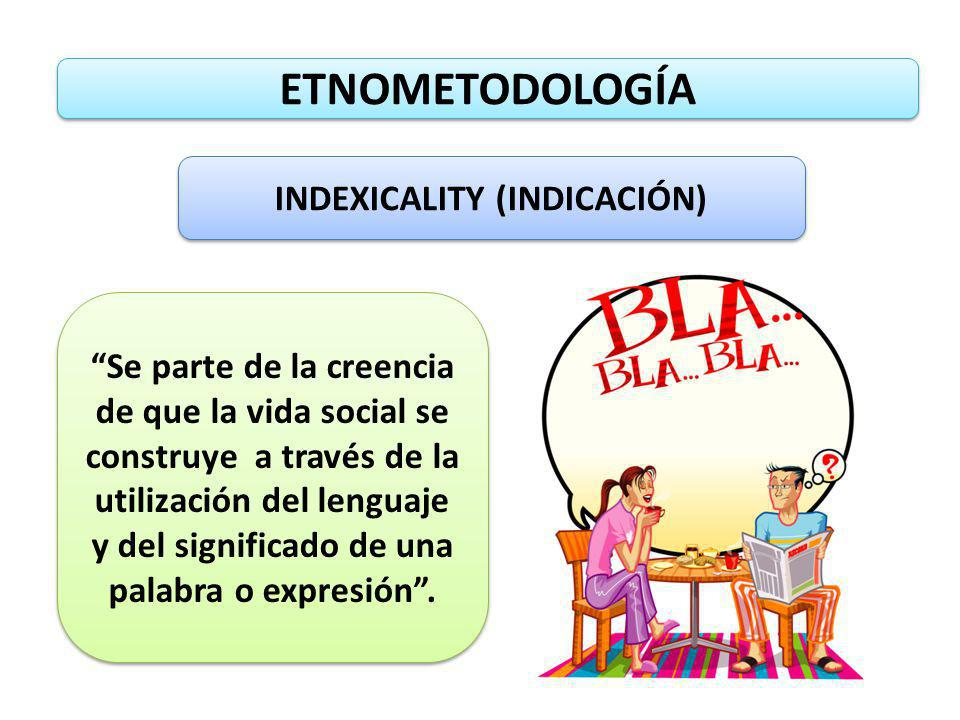 INDEXICALITY (INDICACIÓN)