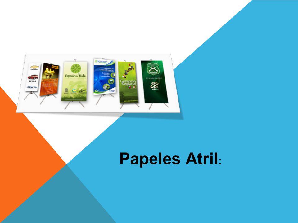 Papeles Atril: