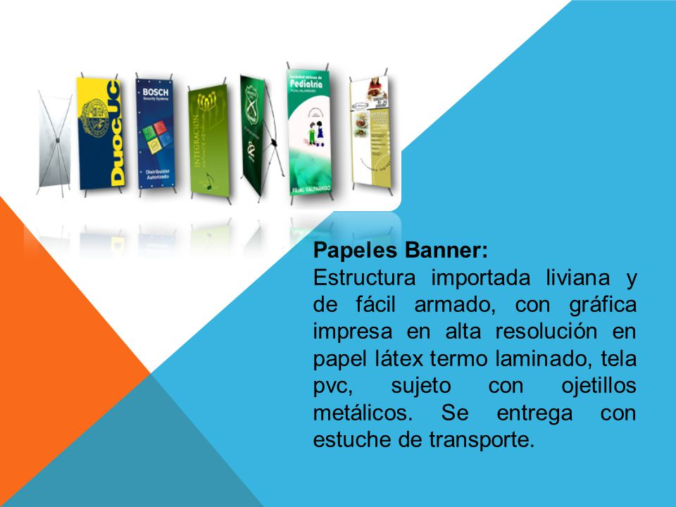 Papeles Banner: