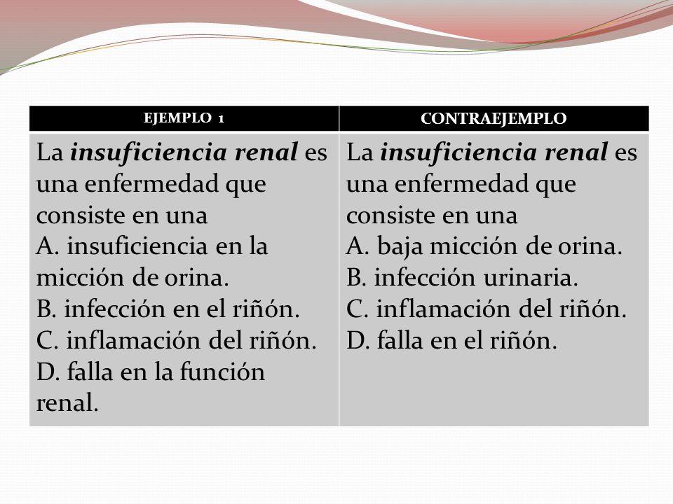 La insuficiencia renal es una enfermedad que consiste en una