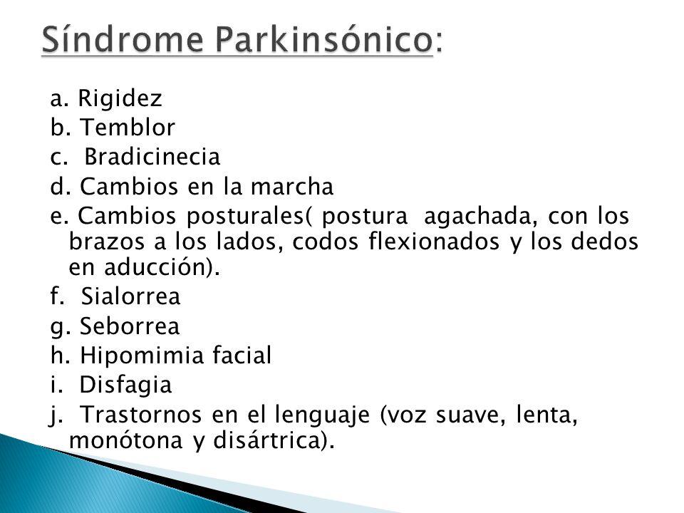 Síndrome Parkinsónico: