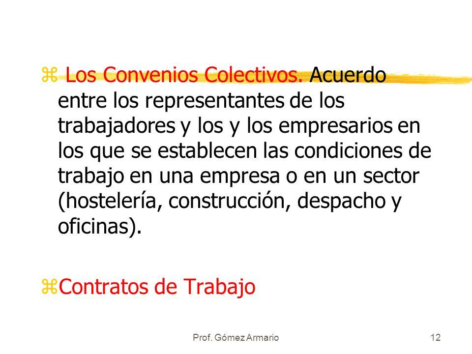 Los Convenios Colectivos