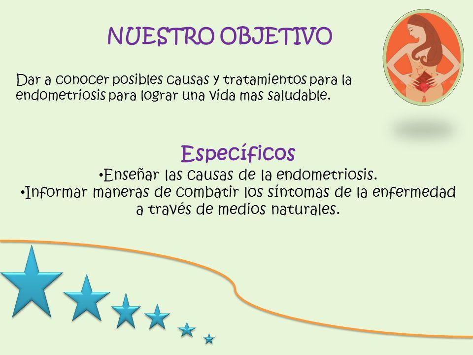 Enseñar las causas de la endometriosis.