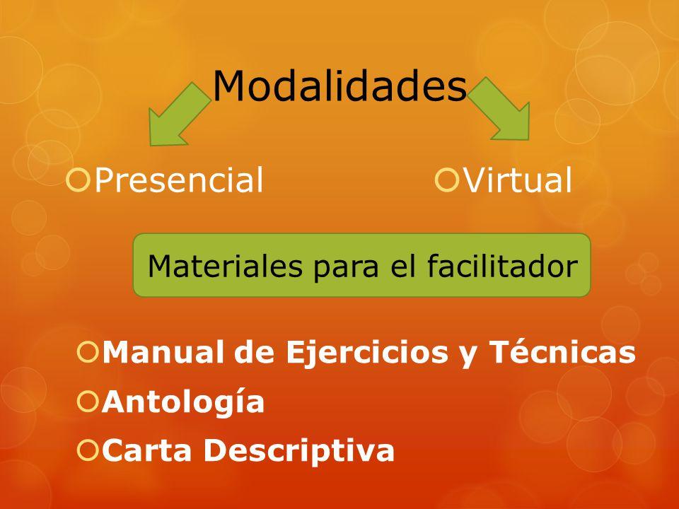 Materiales para el facilitador