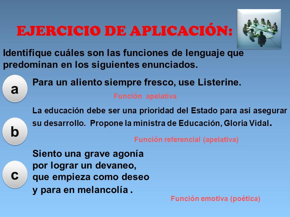 EJERCICIO DE APLICACIÓN: