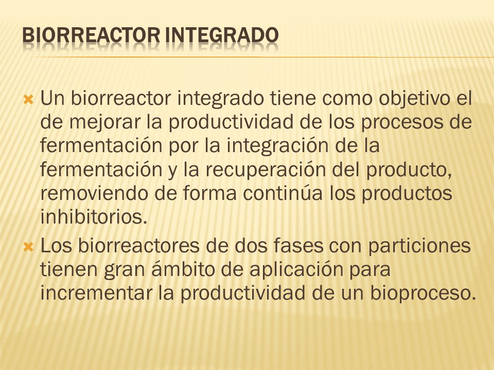 Biorreactor Integrado