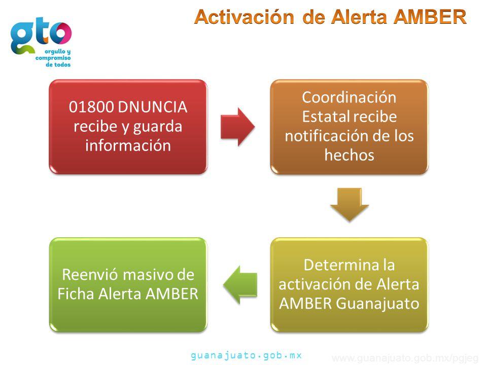 Activación de Alerta AMBER