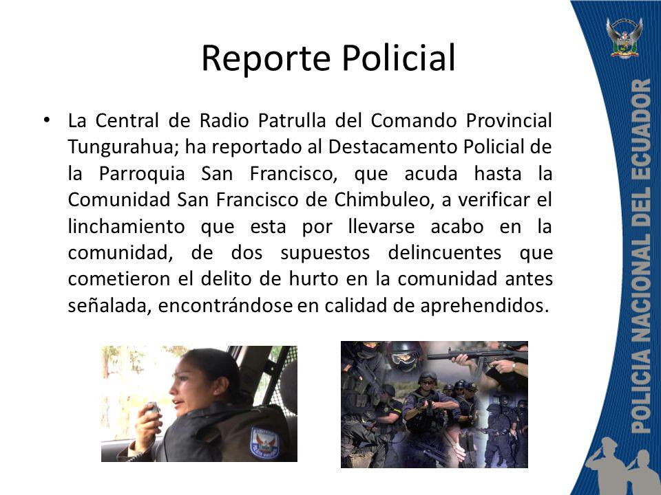 Reporte Policial