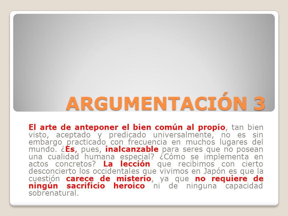 ARGUMENTACIÓN 3