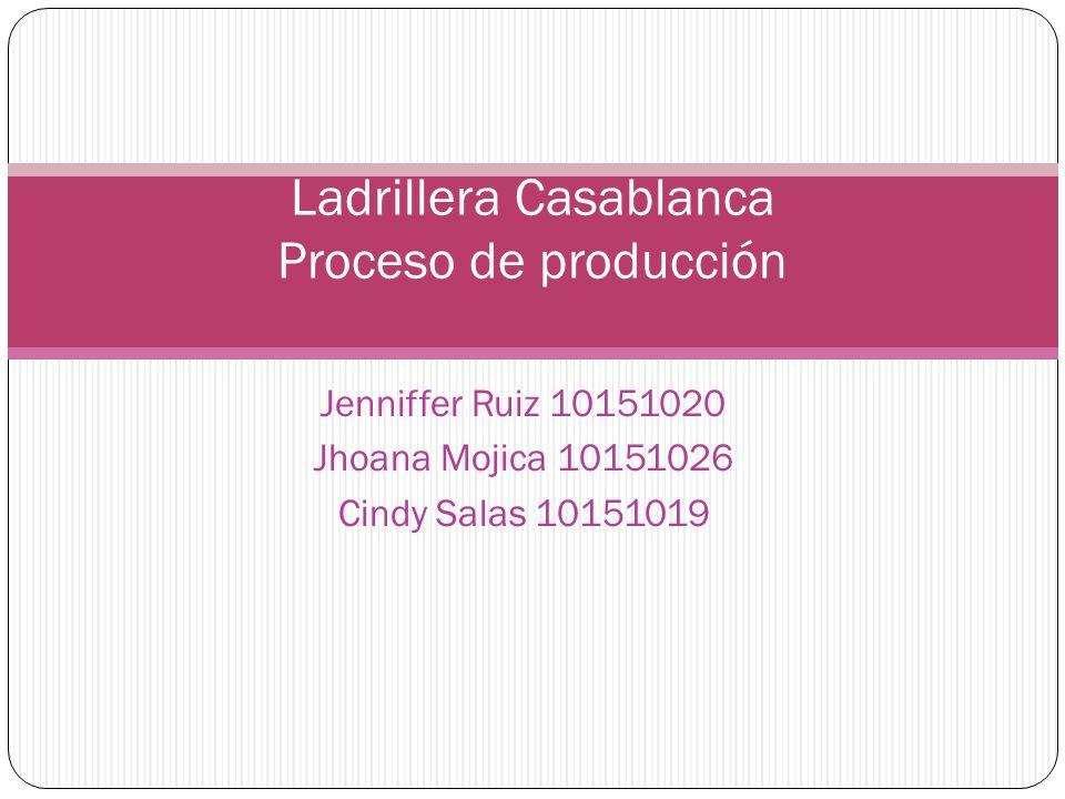 Ladrillera Casablanca Proceso de producción