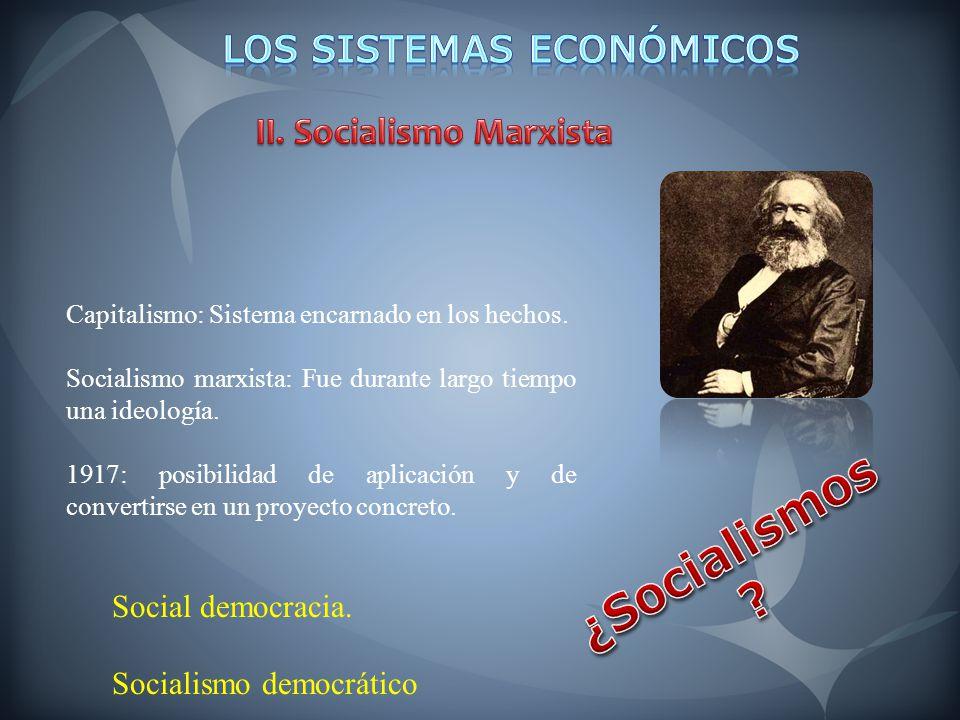 Los Sistemas Económicos