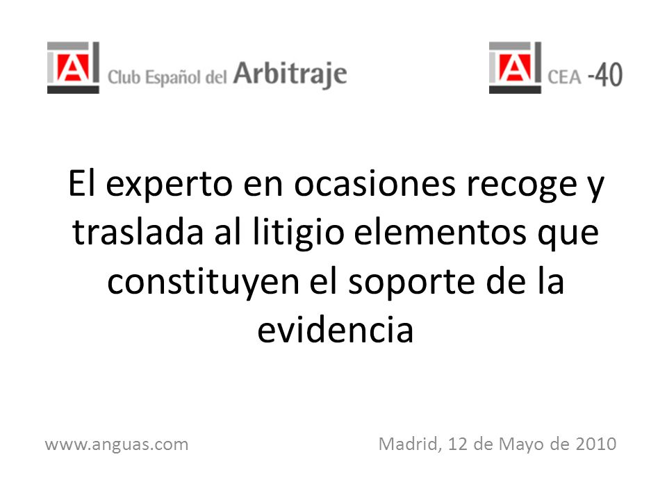 www.anguas.com Madrid, 12 de Mayo de 2010