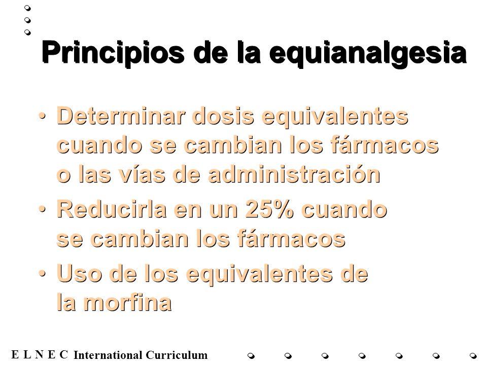 Principios de la equianalgesia