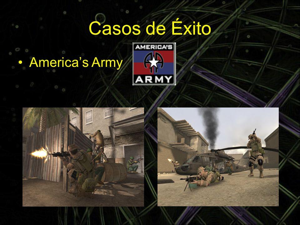 Casos de Éxito America's Army