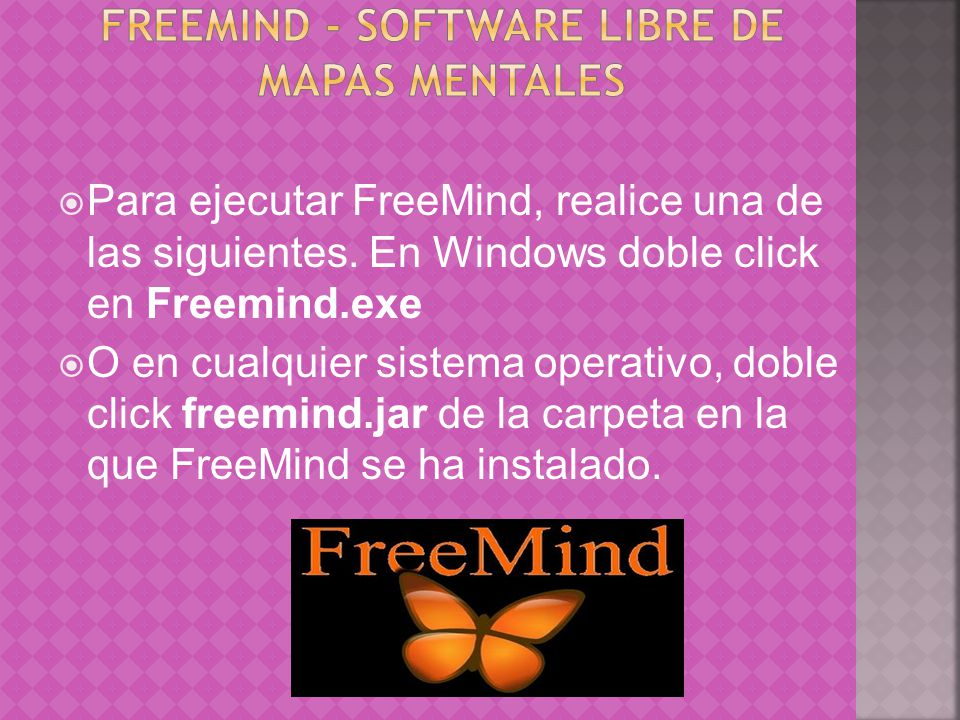 FreeMind - software libre de mapas mentales