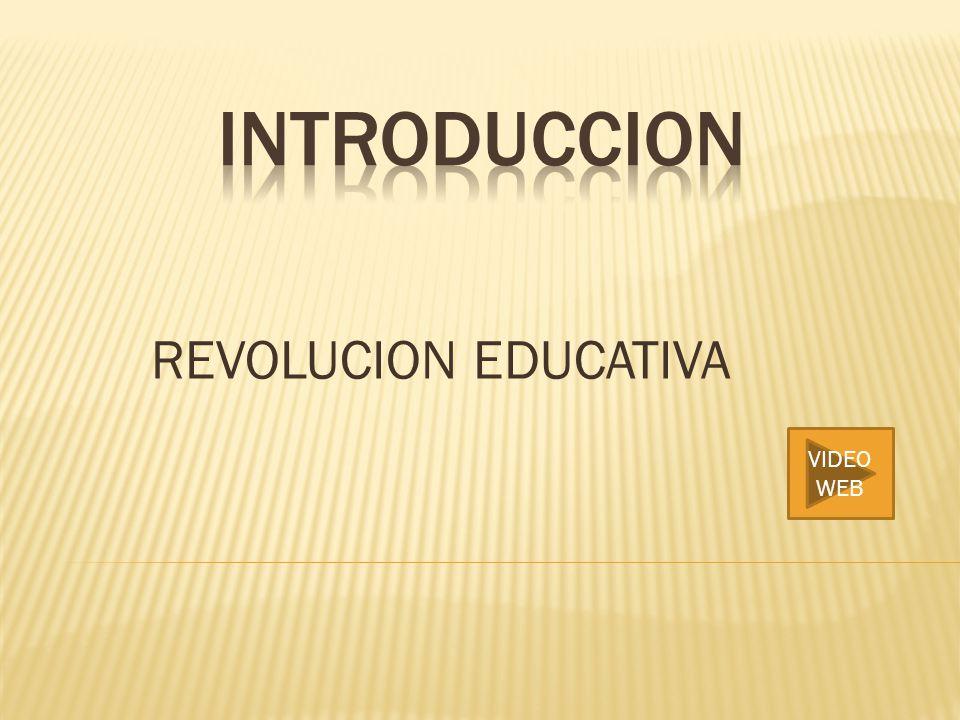 INTRODUCCION REVOLUCION EDUCATIVA VIDEO WEB