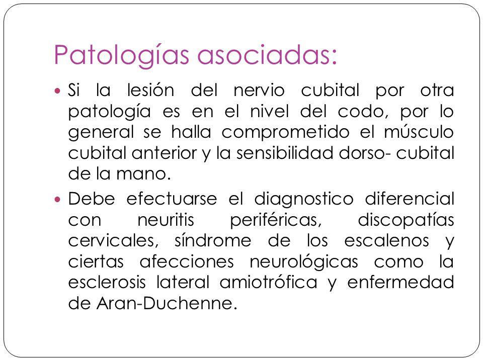 Patologías asociadas: