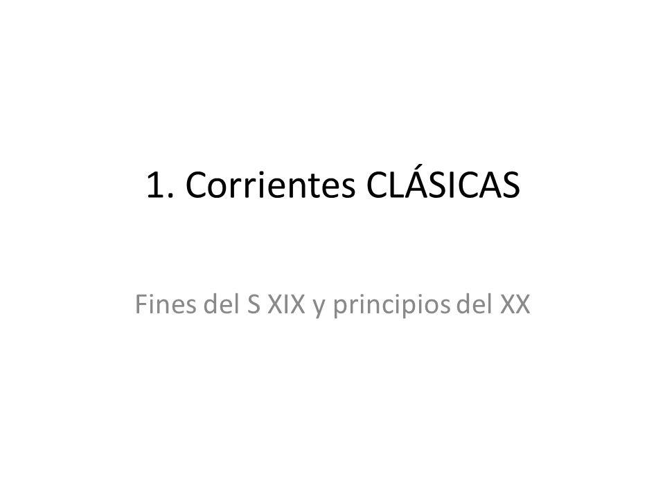 Fines del S XIX y principios del XX