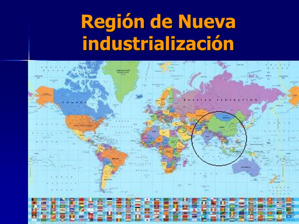 Región de Nueva industrialización